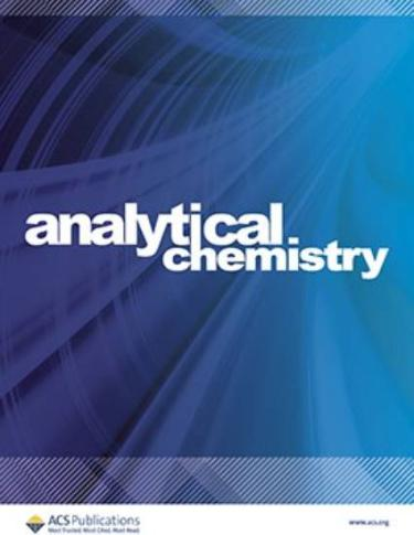 Cover of analytical chemistry journal