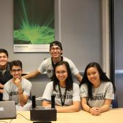 Students from 2019 EngiNearMe Program present their final engineering project