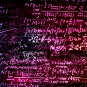 Math equations graphic