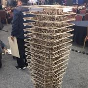 Balsa wood building for earthquake competition