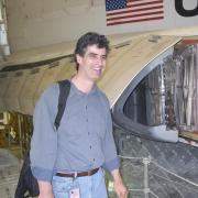 Calomino working at NASA in the past
