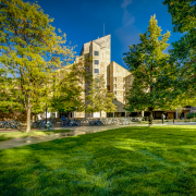 Exterior shot of the Engineering Center