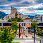 Engineering Center at the CU Boulder campus
