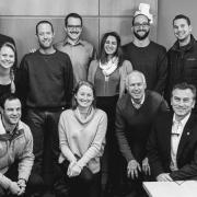 A group shot of the Deming Center Venture Fund associates.