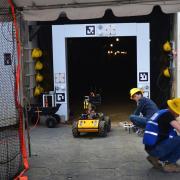 Subterranean drone competition