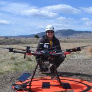 Siemens Gamesa capstone design project testing drones