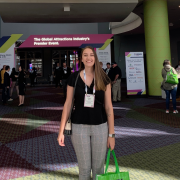 Emily Page at IAAPA Expo