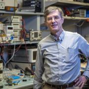 Al Gasiewski in his lab.