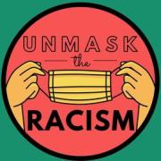 Unmask the Racism Logo