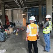 Ground floor of new JSCBB wing.