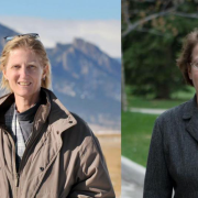 National Academy of Sciences awardees Kristine Larson (left) and Veronica Vaida (right)