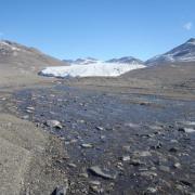 A stream in the McMurdo Dry Valleys, Antarctica. Photo: Chris Jaros