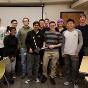 Members of the CU Boulder Quadcopter Club