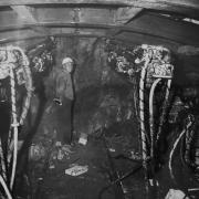 Joe Siccardi in the Johnson bore of the Eisenhower Johnson Tunnels.
