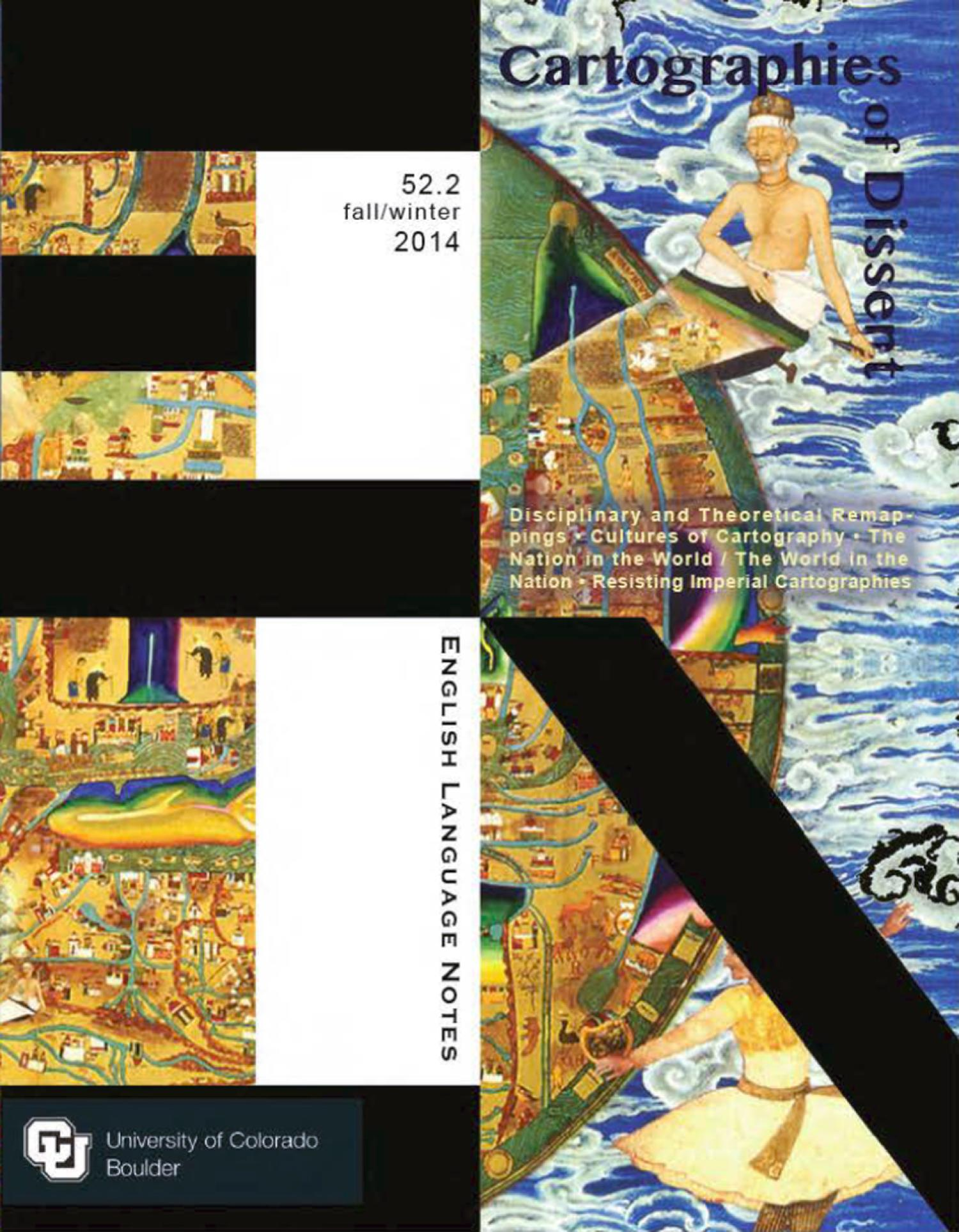 Cartographies of Dissent journal cover