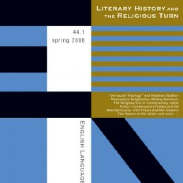Literary History and the Religious Turn journal cover