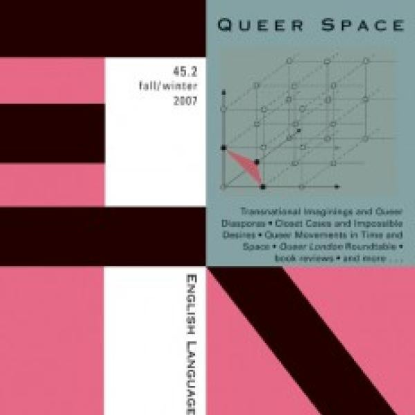 Queer Space journal cover