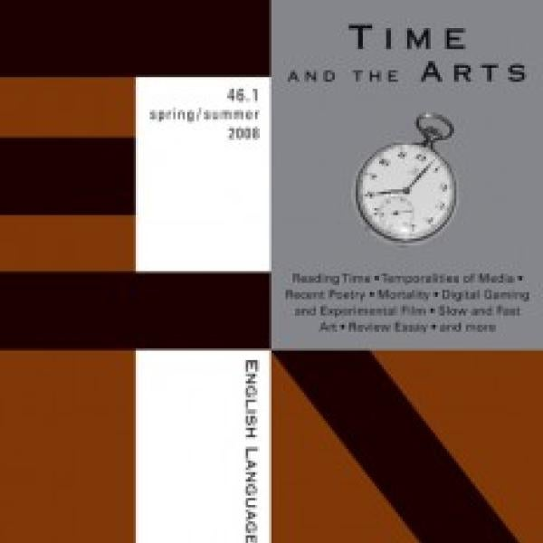 Time and the Arts journal cover