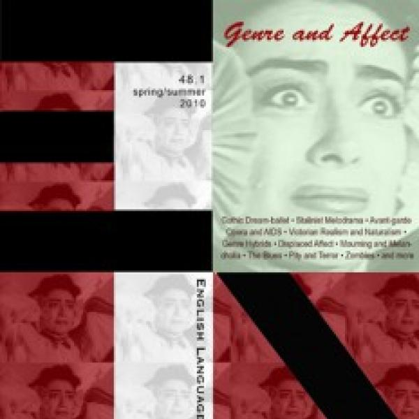 Genre and Affect journal cover
