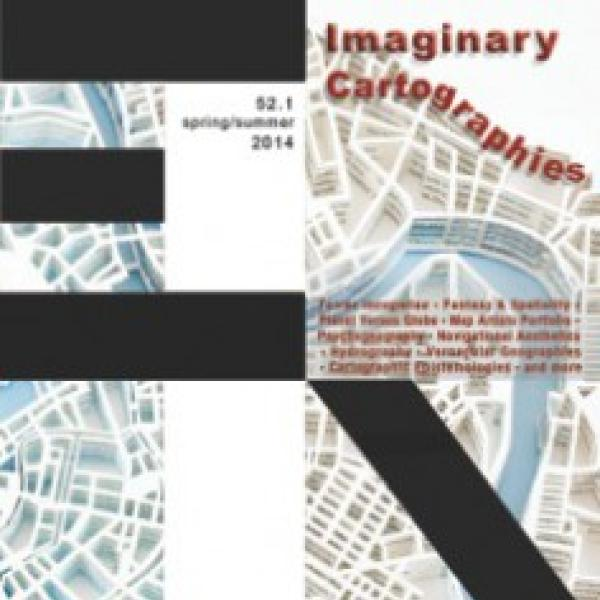 Imaginary Cartographies journal cover