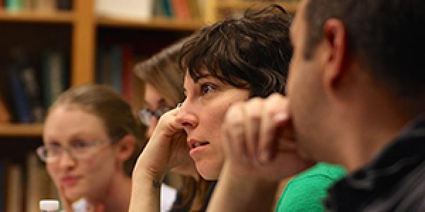 Graduate class discussion