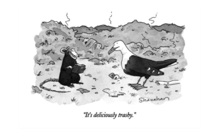 it's Deliciously Trashy Cartoon