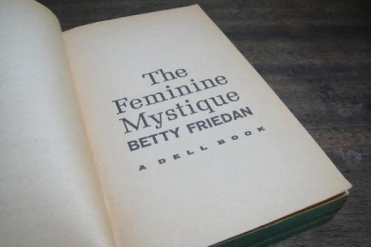 """Photo of the book, """"Feminine Mystique"""""""