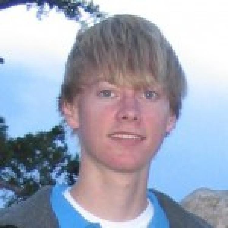 Alex as a CU sophomore