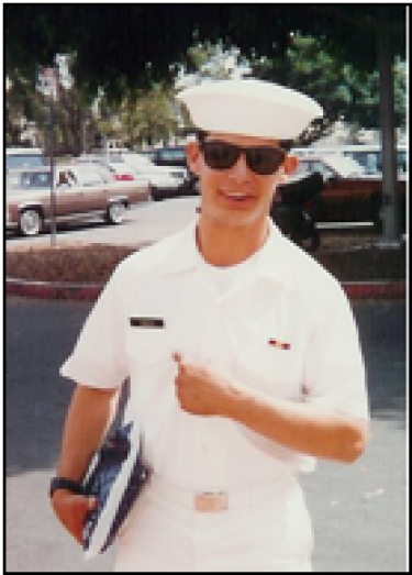 Curt in Navy uniform