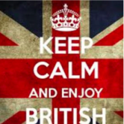 keep calm and enjoy British literature