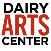 Dairy Arts Center logo, which is just wording