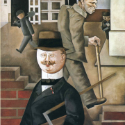 """The Gray Day"" by George Grosz (1921)"