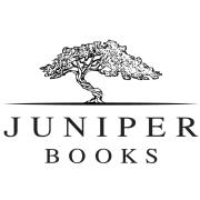 Juniper Books logo with wording and a juniper tree