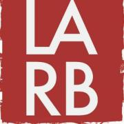 Los Angeles Review of Books logo, which is just LARB