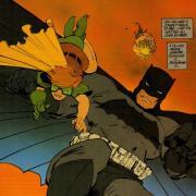 A drawing of Batman