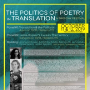 Translation Festival Poster