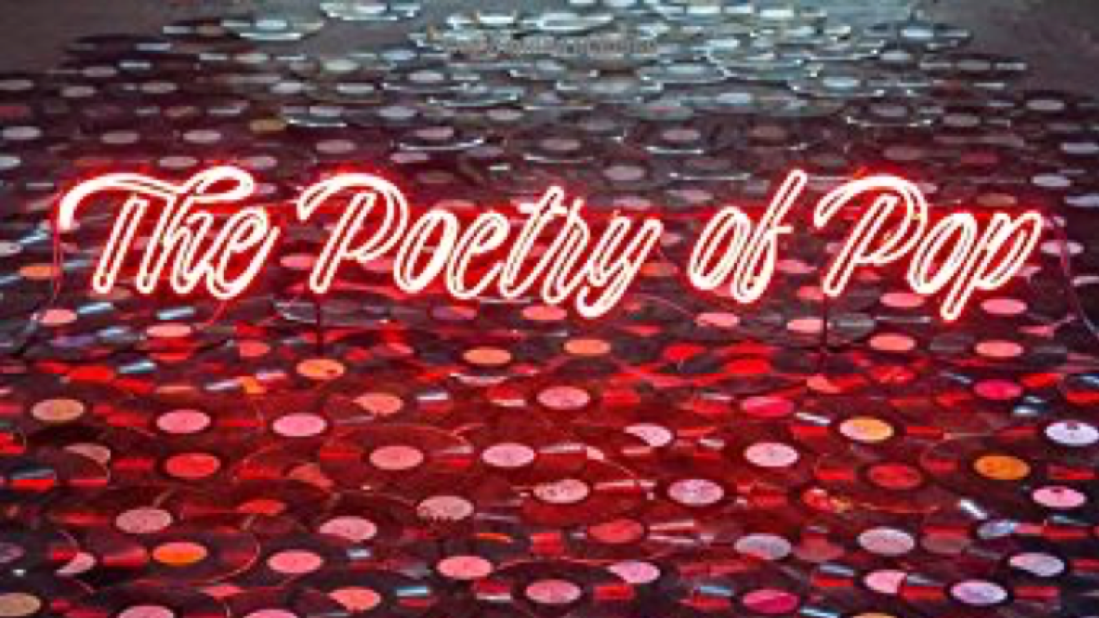 "Cover of Adam Bradley's book, ""The Poetry of Pop"""