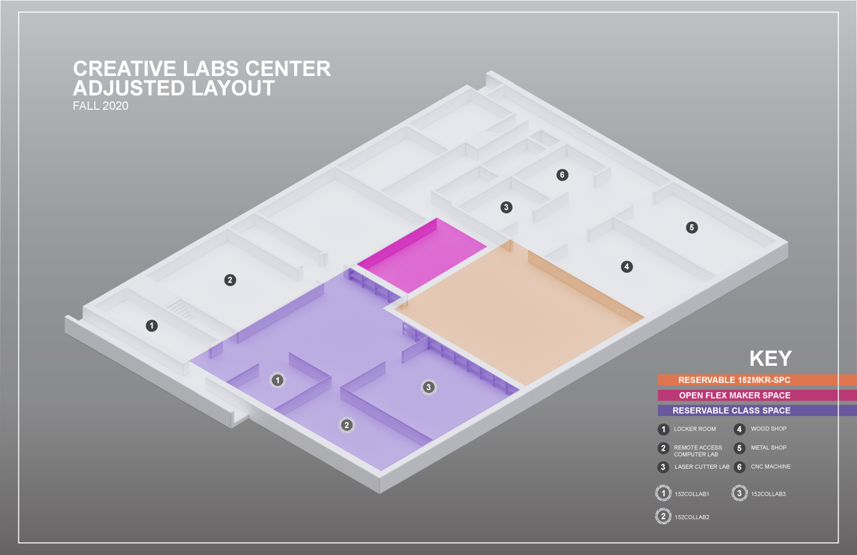 CLC fall 2020 use map