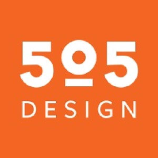 505 design logo