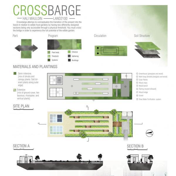 Crossbarge by Hali Mauldin