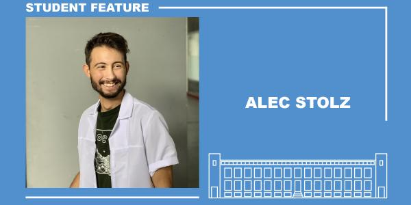 Student feature with Alec Stolz