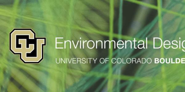 Student work and ENVD logo