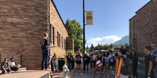 ENVD 1004 campus walks