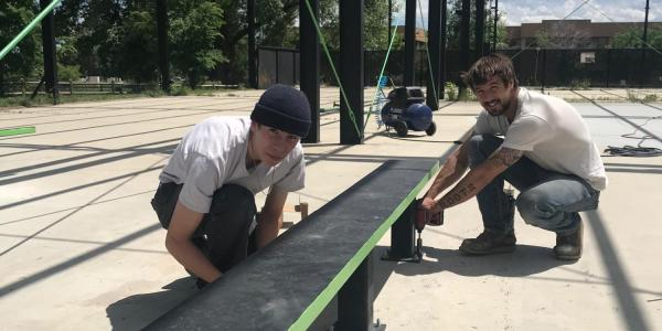 City installs new skateboard features at Valmont City Park pilot program