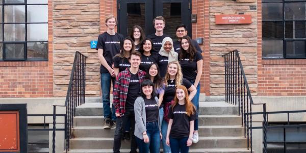 ENVD student ambassadors, 2019