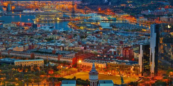 """""""Barcelona At Night"""" by Trey Ratcliff is licensed under CC BY-NC-SA 2.0"""