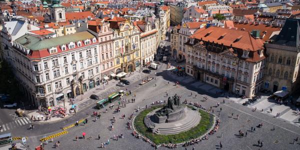 """""""Old Town Square, Prague"""" by *rboed* is licensed under CC BY 2.0"""