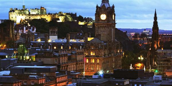 Edinburgh at a glance by Dimitry B is licensed under CC BY 2.0