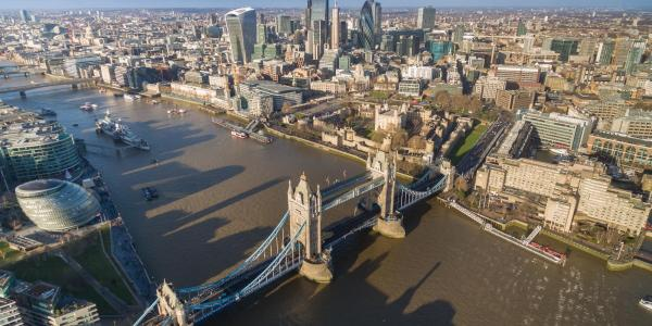 London Tower Bridge by dronepicr is licensed under CC BY 2.0