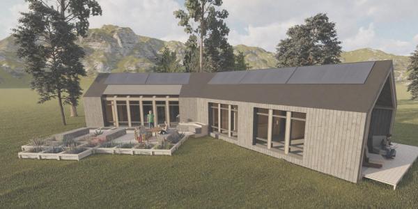 Solar Decathlon Concept and Render